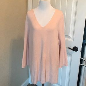 H by Halston bell sleeve sweater